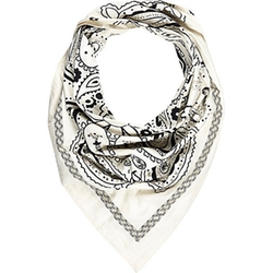 River Island - Embellished Printed Triangle Scarf