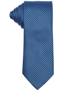 Yves Saint Laurent - Micro Houndstooth Silk Tie