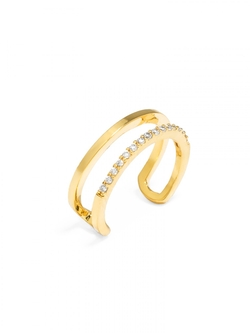 Baublebar - Ice Lateral Midi Ring