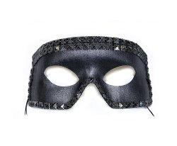 Halloween Masks - Lance Studded Men's Mask