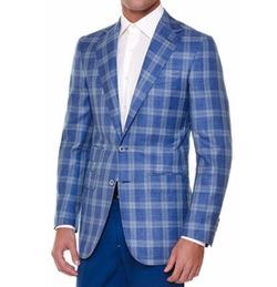 Stefano Ricci - Windowpane Two-Button Sport Coat
