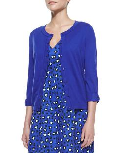 Kate Spade New York   - Somerset Bow-sleeve Cardigan