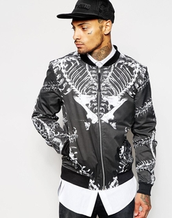 Religion  - Reversible Bomber Jacket