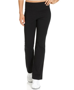 Style & Co. Sport - Tummy-Control Bootcut Pull-On Pants