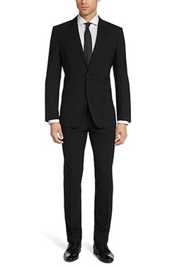 Hugo Boss - Huge/Genius Slim Fit Virgin Wool Suit