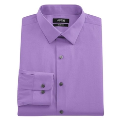 Apt. 9 - Extra-Slim Solid Stretch Dress Shirt