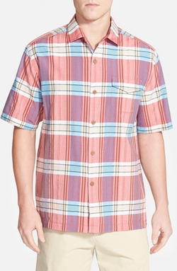 Tommy Bahama - Island Modern Fit Short Sleeve Sport Shirt