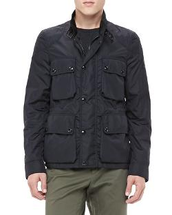 Belstaff   - Lightweight Field Jacket, Black