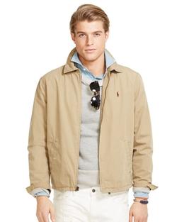 Ralph Lauren - Cotton Landon Windbreaker Jacket