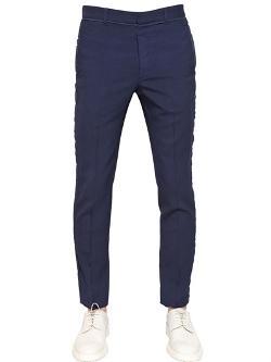 Maison Martin Margiela - Dyed Wool Canvas Trousers