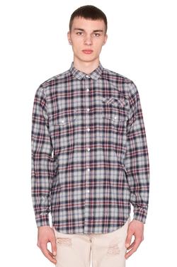 Stampd - Plaid Flannel Button Down Shirt