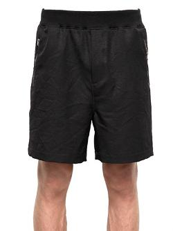 Marni  - Japanese Techno Blend Canvas Shorts