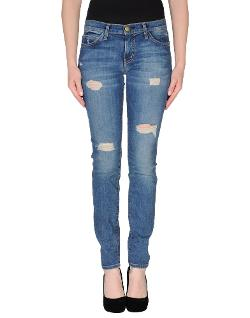 Current/elliott  - Torn Denim Pants