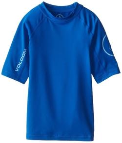 Volcom - Solid Short-Sleeve Rashguard
