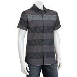 Zoo York  - Block Striped Chambray Button-Down Shirt