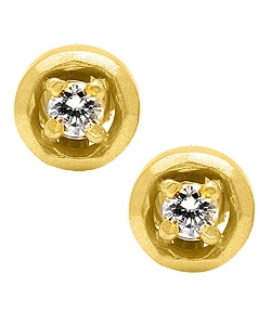 Avanessi  - Halo Medium Stud Earrings