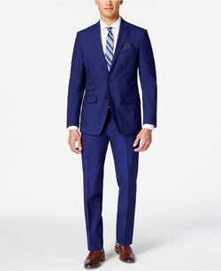 Tallia - Solid Slim-Fit Suit