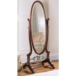 Powell Furniture  - Oval Cheval Mirror