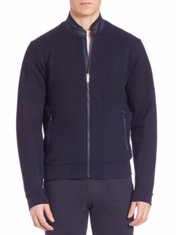 Z Zegna  - French Terry Zip Jacket