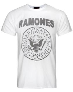 Amplified Clothing - Ramones Logo Men