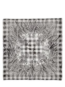 Etro  - Paisley Printed Silk Satin Pocket Square