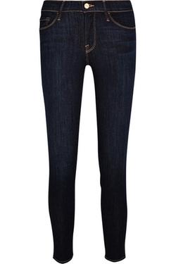 Frame Denim - Le Skinny Mid-Rise Jeans