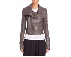 Rick Owens - Classic Leather Jacket