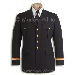 Marlow White - Male Officer Premium™ Army Service Uniform (ASU) Coat