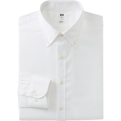 Uniqlo - Stretch Slim Fit Oxford Long Sleeve Shirt