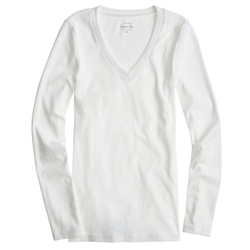 J. Crew - Long-Sleeve V-Neck Shirt