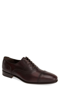 Salvatore Ferragamo - Newcastle Cap Toe Oxford