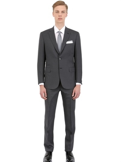 Brioni  - Pinstripe Stretch Wool Slim Fit Suit
