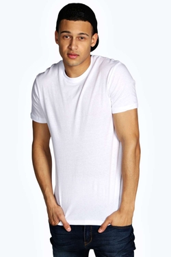 Boohoo - Slim Fit Crew Neck Shirt