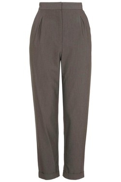Topshop - Notch Back Tapered Pants