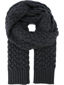 Dolce & Gabbana   - Chunky Cable Knit Scarf