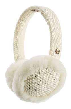 UGG Australia  - Lyla Wool Blend and Shearling Earmuffs