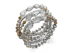 c.A.K.e by Ali Khan  - Bead Stretch Bracelet