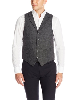 U.S. Polo Assn. - Wool Glen Plaid Vest