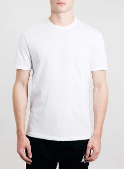 Topman - White Classic Crew T-shirt