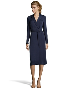 Theory - Navy Silk Georgette
