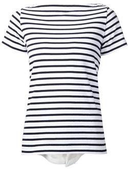 Sacai - Striped T-Shirt