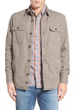 Faherty - Blanket Lined Shirt Jacket