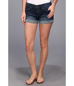 Blank NYC - The Basic Cuff Short in Denim Blue Shorts