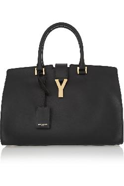 SAINT LAURENT  - Cabas Chyc medium leather shopper