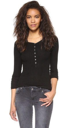 Getting Back To Square One - Long Sleeve Henley Top