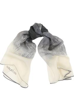 Halston Heritage  - Printed Silk-Chiffon Scarf