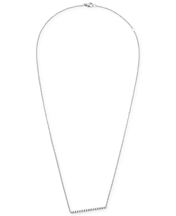 Calvin Klein - Stainless Steel Bar Pendant Necklace