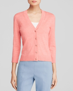 Tory Burch - Simone Crop Cardigan Sweater