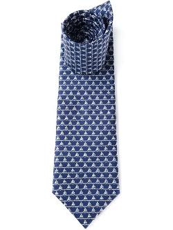 Salvatore Ferragamo - Sailboat Print Tie