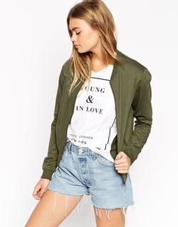 Asos Collection - The Bomber Jacket In Jersey